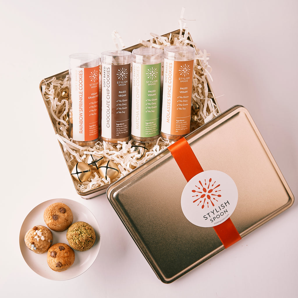 LIMITED EDITION: Mini Gluten-free/Vegan Holiday Cookie Sampler Set
