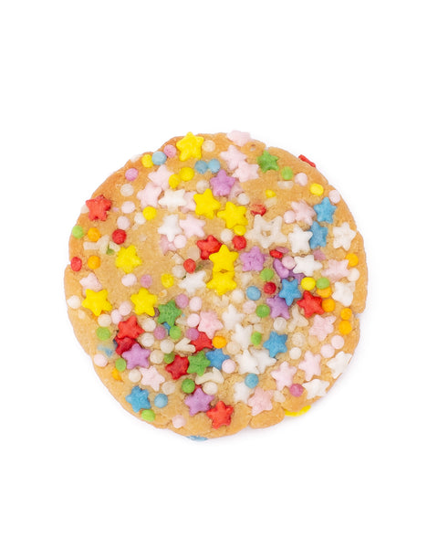 Rainbow Sprinkle Cookies <br> Grain-free + Vegan