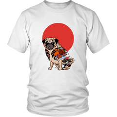 Tattooed Pug Tee