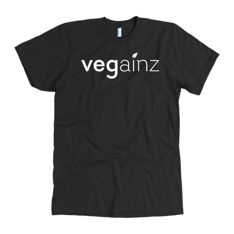 Vegainz Tee in black