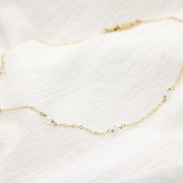 Herkimer Layering Necklace