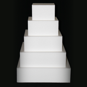 Various Square Cake Dummy Sets by Shape Innovation, Inc.