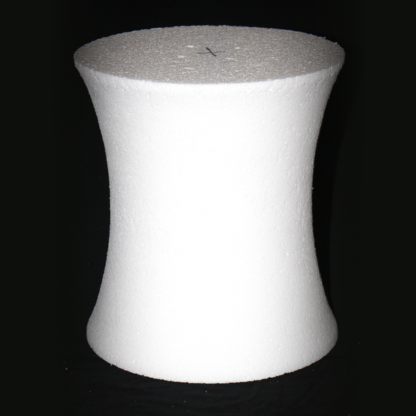 Hourglass Styrofoam Cake Dummy by Shape Innovation, Inc in Atlanta, GA