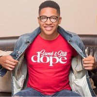 "Saved & Still DOPE"" RED Tee Unisex"