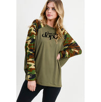 Saved & Still Dope Camo Longsleeve