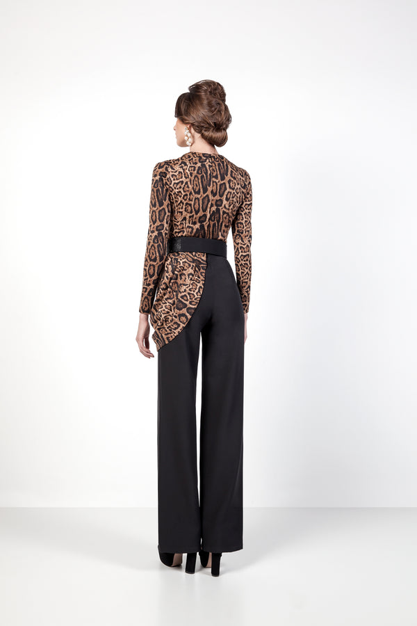 Panthera Jumpsuit Back
