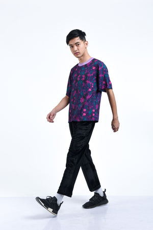 PURPLE HAZE PRINTED TSHIRT