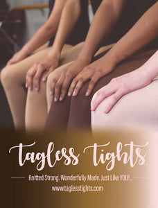 Tagless Tights- Child Sizes