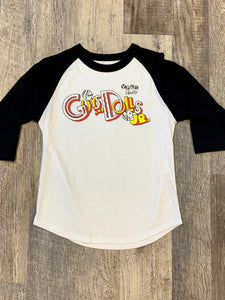 "Guys and Dolls Jr ""Logo"" Raglan T-Shirt"