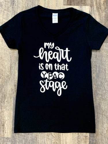 "YPAC ""Heart on Stage"" T-Shirt"