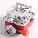 Foldable Square Cooking Stove .