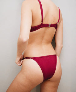 MAROON CLIFTON BOTTOM