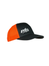 Big Strappers Snapback - Neon Orange / Charcoal
