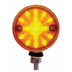 "3"" Double Face Amber / Red LED Pedestal Light"