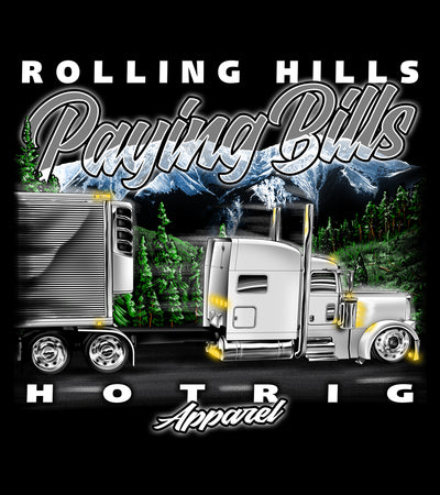 Hot Rig - Rolling Hills Paying Bills Hoodie