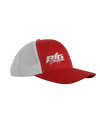 Big Strappers Snapback - Red / White
