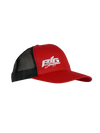 Big Strappers Snapback - Red / Black