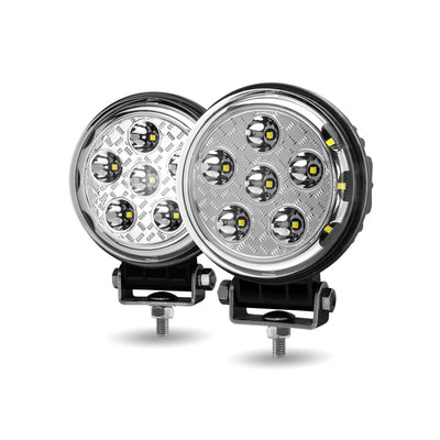 "4.5"" Round Spot / Side Flood Combo LED Light"