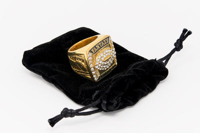 Gold Fantasy Football Championship Ring