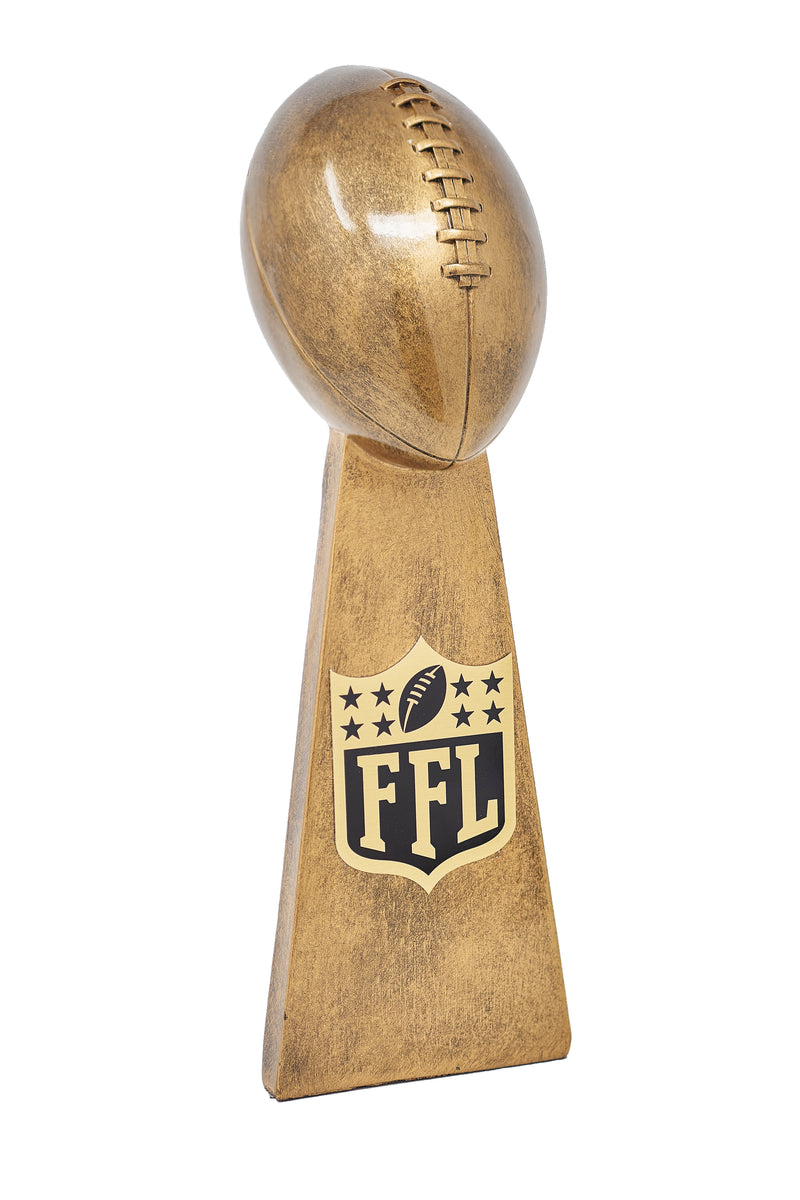 Gold Fantasy Football Champion Lombardi Trophy - Fantasybros.us