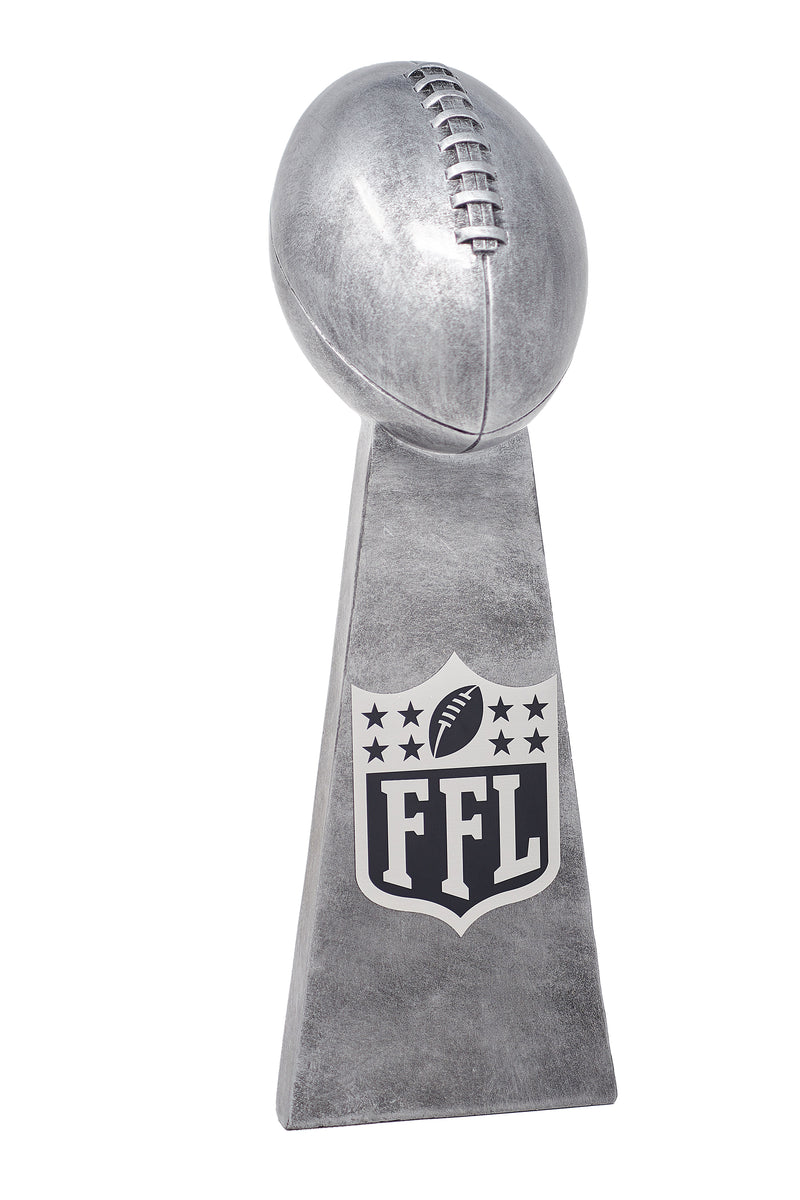 Silver Fantasy Football Champion Lombardi Trophy - Fantasybros.us