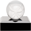 Mini Crystal Fantasy Football Pedestal Trophy (Free Engraving) - Fantasybros.us