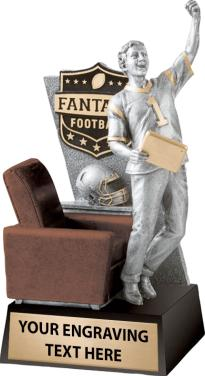 "Premium 13"" Fantasy Football Sculpture (Free Engraving) - Fantasybros.us"