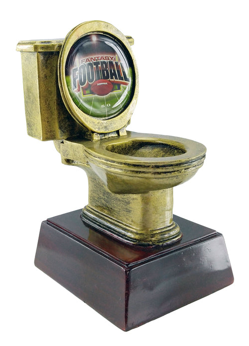 Gold Toilet Bowl Trophy - Fantasybros.us