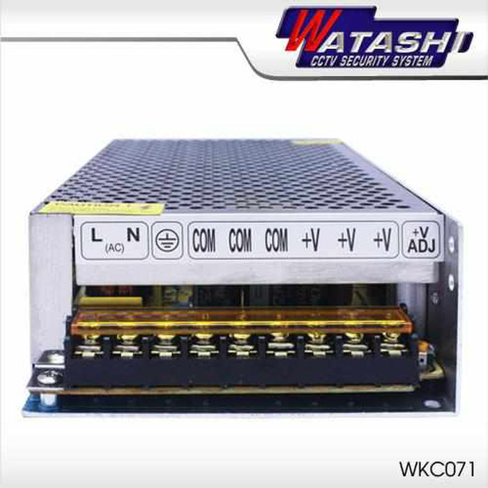 WKC071 CCTV Power Supply 12V/20A. Power Supply Watashi