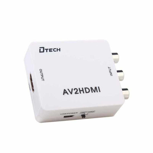 DTECH AT033 : AV TO HDMI High Definition Converter Data Switch Watashi