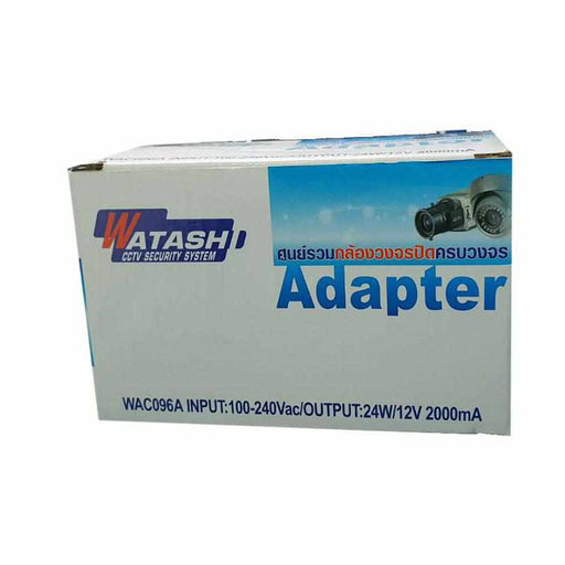WAC096A Adaptor S/W 2000mA (For Camera)-Adaptor-กล้องวงจรปิด-Watashi CCTV