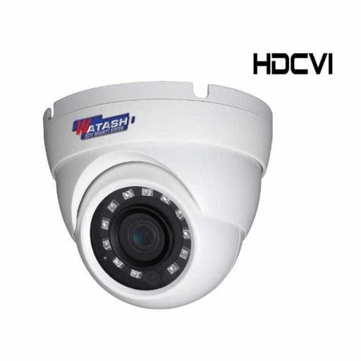 กล้องวงจรปิด รุ่น WVI035-S4 2.0 MP HDCVI IR Eyeball Camera HDCVI Camera Watashi CCTV