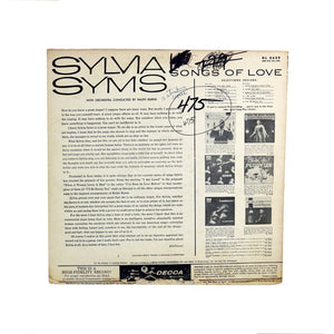 "Sylvia Syms, ""Songs of Love"""