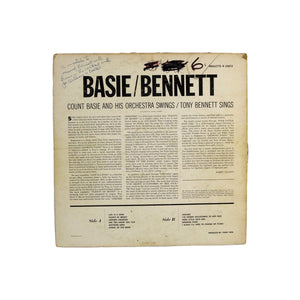 "Basie/Bennett, ""Count Basie and His Orchestra Swings/Tony Bennett Sings"""