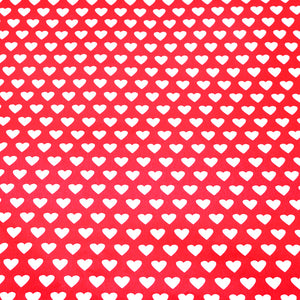Hearts Gift Wrapping Paper. We will gift wrap your item into the corresponding box size with the wrapping paper of your choosing along with two colors of raffia ribbon. Our custom gift wrapper will choose those depending on which colors are available at time of wrapping.