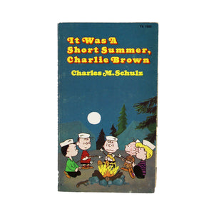 "Vintage ""It Was a Short Summer, Charlie Brown""  A Charlie Brown picture book.  Measures: 7 x 4 inches."