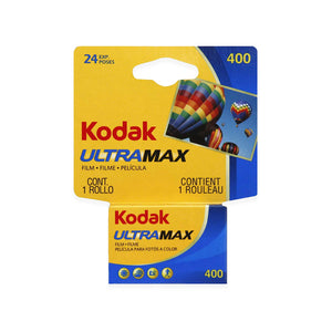 Kodak Ultramax 35mm Color Film details:  Measures 4.5 x 4 x 1.5 inches  Please note that due to everyone's monitor displaying differently, the colors you see may vary.