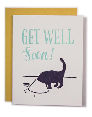 Get Well Soon Kitty Card