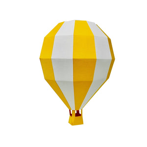 by Low Poly Craft Balloon Kit details: Kit that includes pre-cut, pre-scored and pre-numbered for assembly pieces. By buying our kits, you save the time put into finding the right quality of paper, printing the pieces, cutting and scoring them, and you can simply skip ahead to assembling.