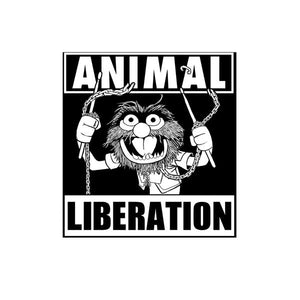 Silver Sprocket Animal Liberation Sticker FOLD Gallery