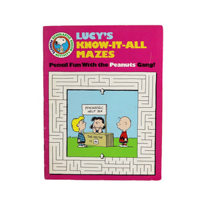 Various Vintage Peanuts Activity and Coloring Books  Listing is for one book.  Measures 11 x 8.5 inches  Condition: Good condition, no writing inside.