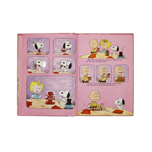"Vintage 1976, ""Be My Valentine, Charlie Brown"" - Hardcover Book"