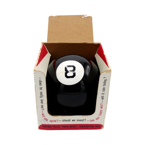 Vintage 1960's Magic 8 Ball Fortune Teller