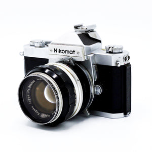Vintage Nikon Nikkormat FT Chrome Classic 35mm Film Camera