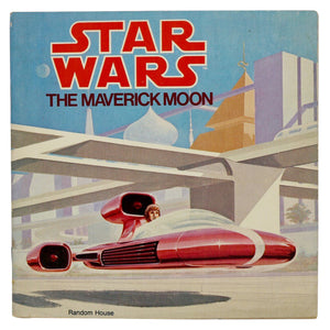 Vintage The Maverick Moon Book  This 29 page book features full-color illustrations, and tells a story from Luke's days at the academy!  Measures 8 x 8 inches.  Condition: This picture book is in great condition. Only minor shelf wear. Really cool illustrations.
