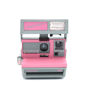 Vintage Polaroid Pink Cool Cam 600 Film Camera