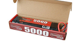 REDBACK RACING BATTERY, 7.2V 5000MAH NIMH, S/PACK DEANS RCBAT6SC5000