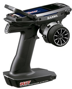 SANWA M17 2.4GHz 4 Channel Digital Radio Transmitter with RX-491
