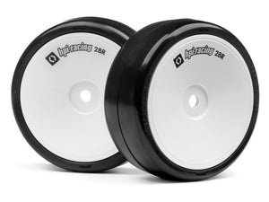 #120032 - HPI CHALLENGE TIRE 28R (MOUNTED 4PCS)