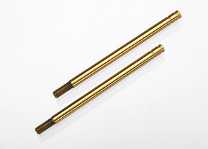 Traxxas Long Titanium Nitride Coated Shock Shafts 2Pcs #1664T